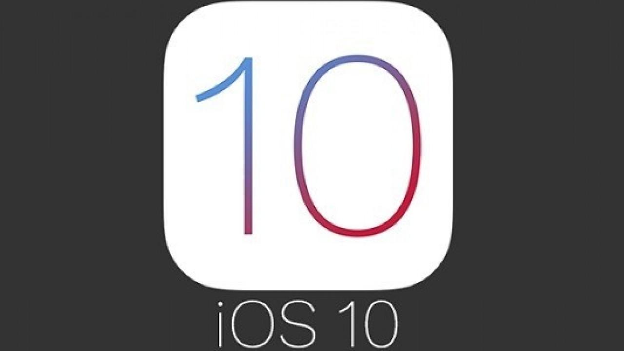 iOS 10'un tırmanışı devam ediyor