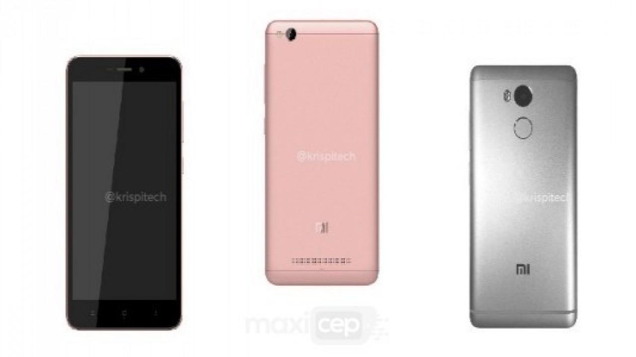 Xiaomi Redmi 4 ve 4A Görselleri Fiyatı ve Detaylı Teknik Özellikleri İnternete Sızdırıldı