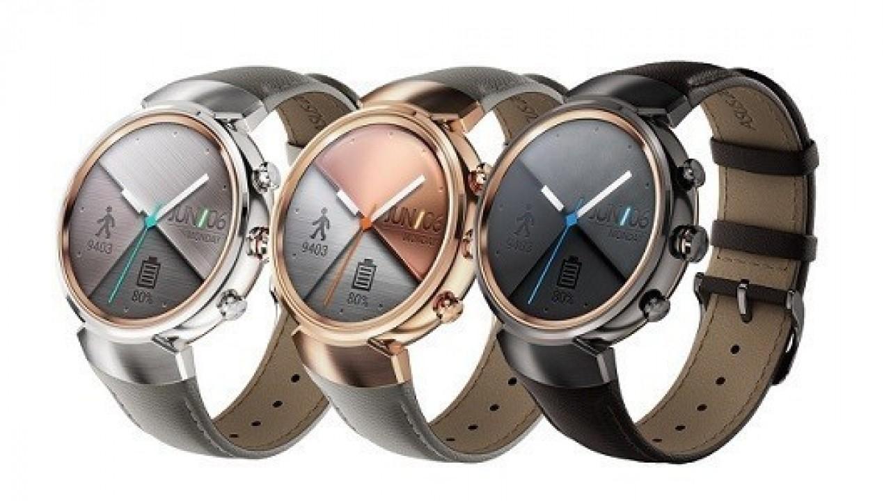 Asus ZenWatch 3 akıllı saat ABD'de satışta