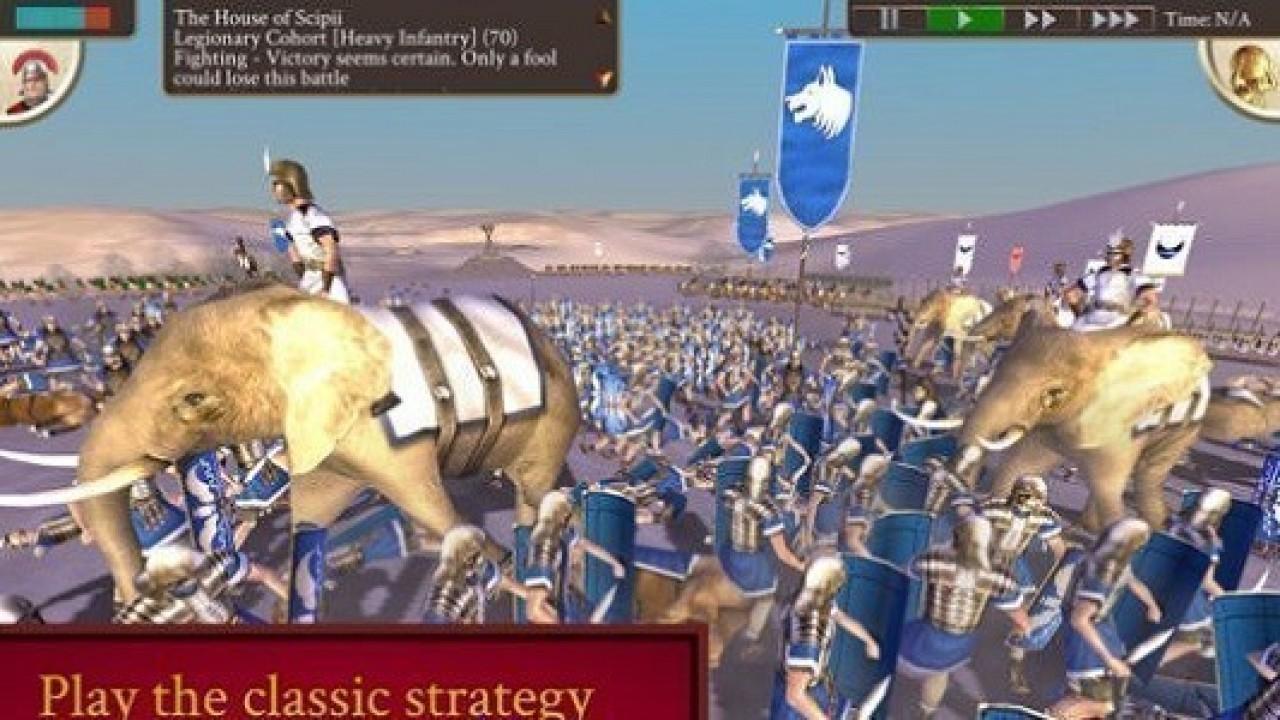 ROME: Total War oyunu Apple'ın iPad tablet modelleri için yayınlandı