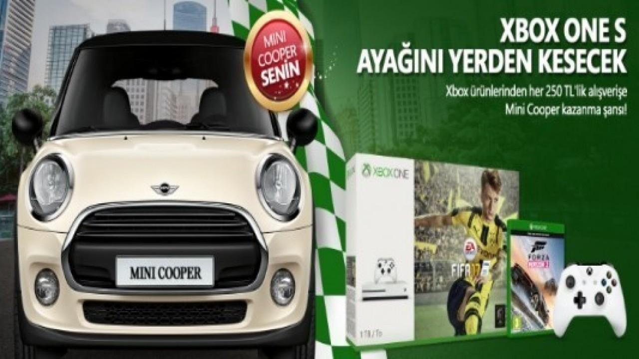 Microsoft, Xbox Alışverişine Mini Cooper Kazanma Şansı Veriyor