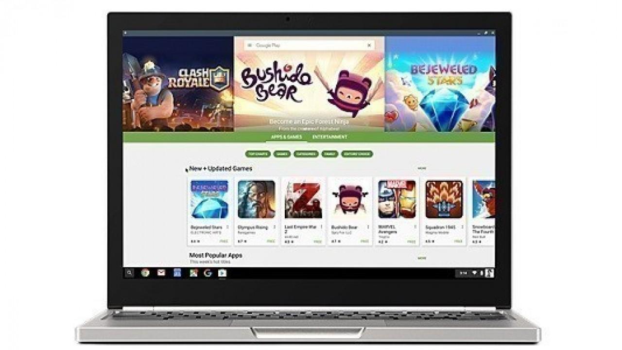 Google, Android uygulamalar için uyumlu Chromebook modellerini listeledi