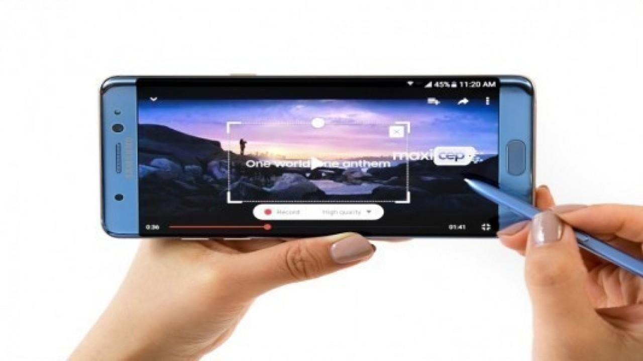 Samsung Galaxy Note 7 Türkiye'de