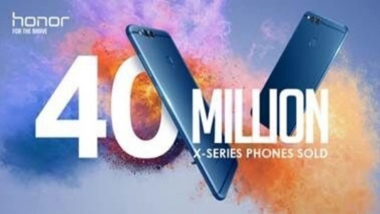 Honor X Serisi 40 Milyonluk Satış Rakamını Aştı