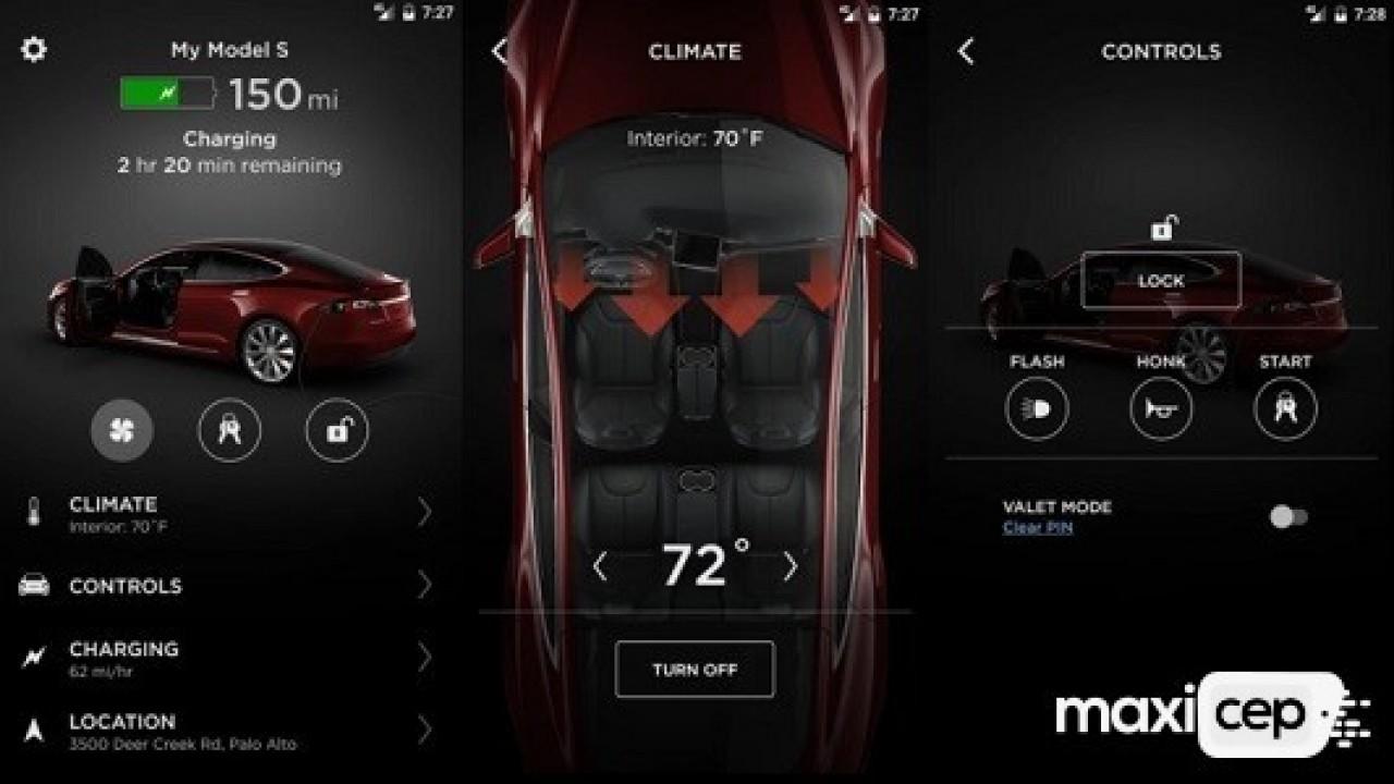 Tesla Android Uygulaması Yeni Özellikler İçeren Bir Güncelleme Aldı