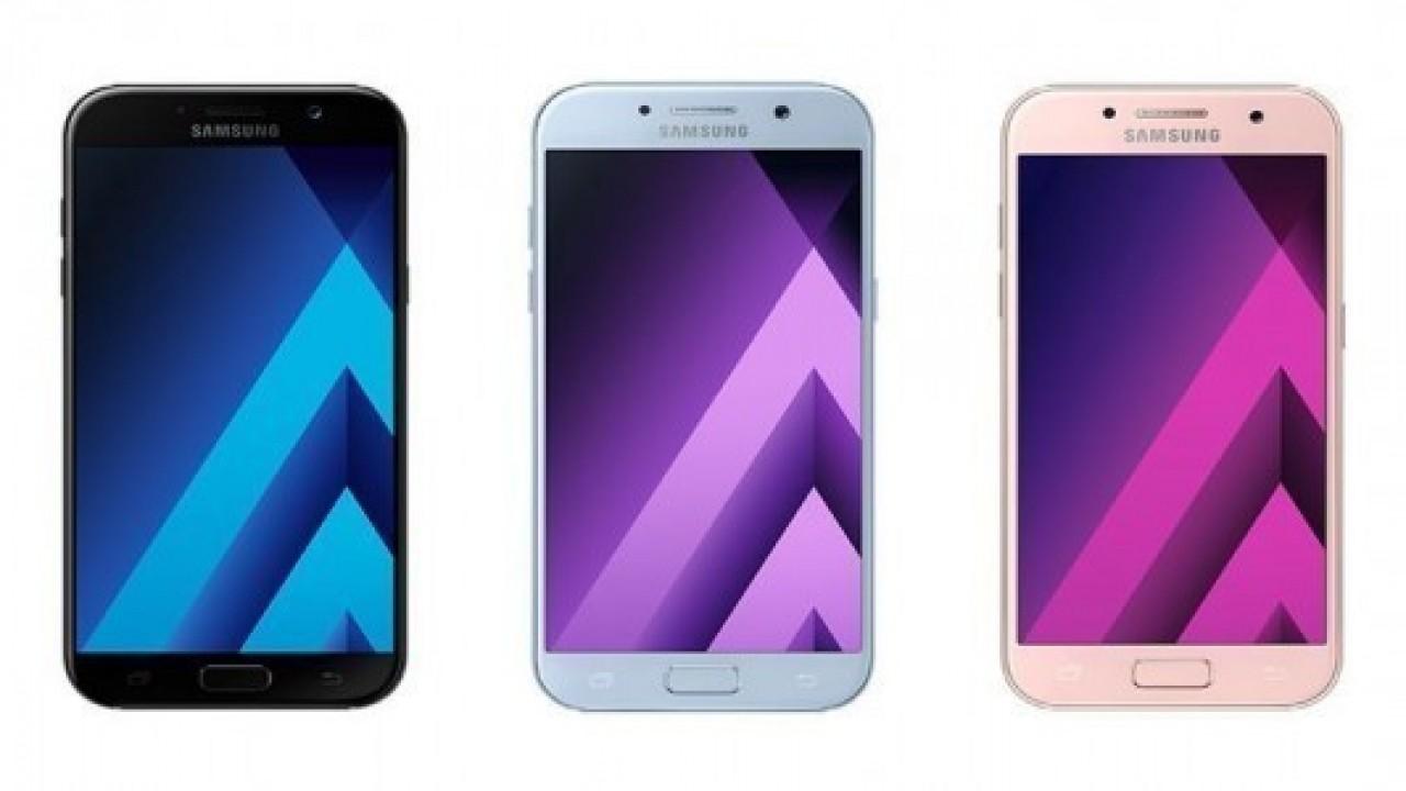 Galaxy A7 (2017) modeli güncellendi