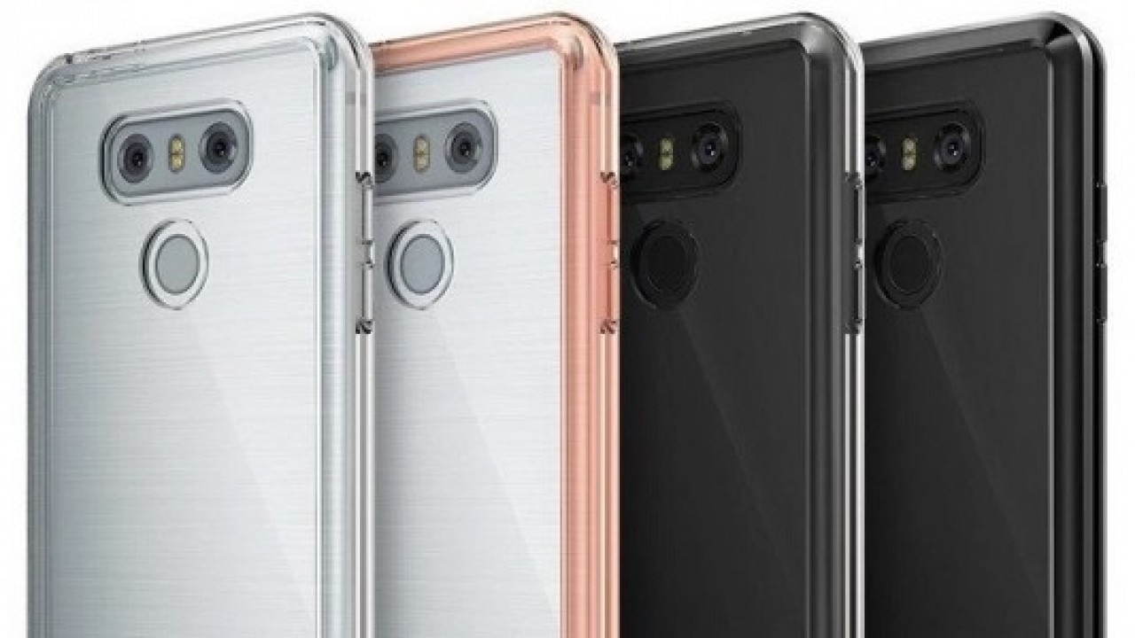 Bumper Kılıflı LG G6 Görüntüleri Tasarımı Gözler Önüne Seriyor