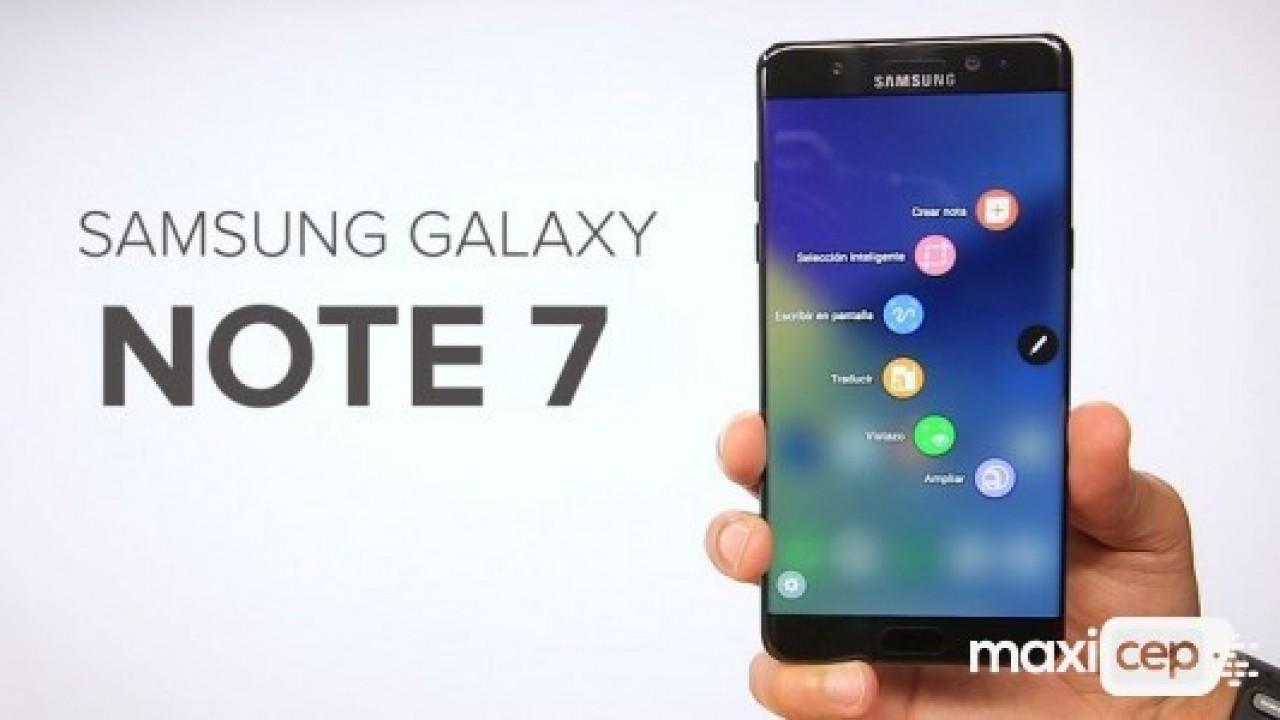 Samsung, Galaxy Note 7'i yeniden üretecek