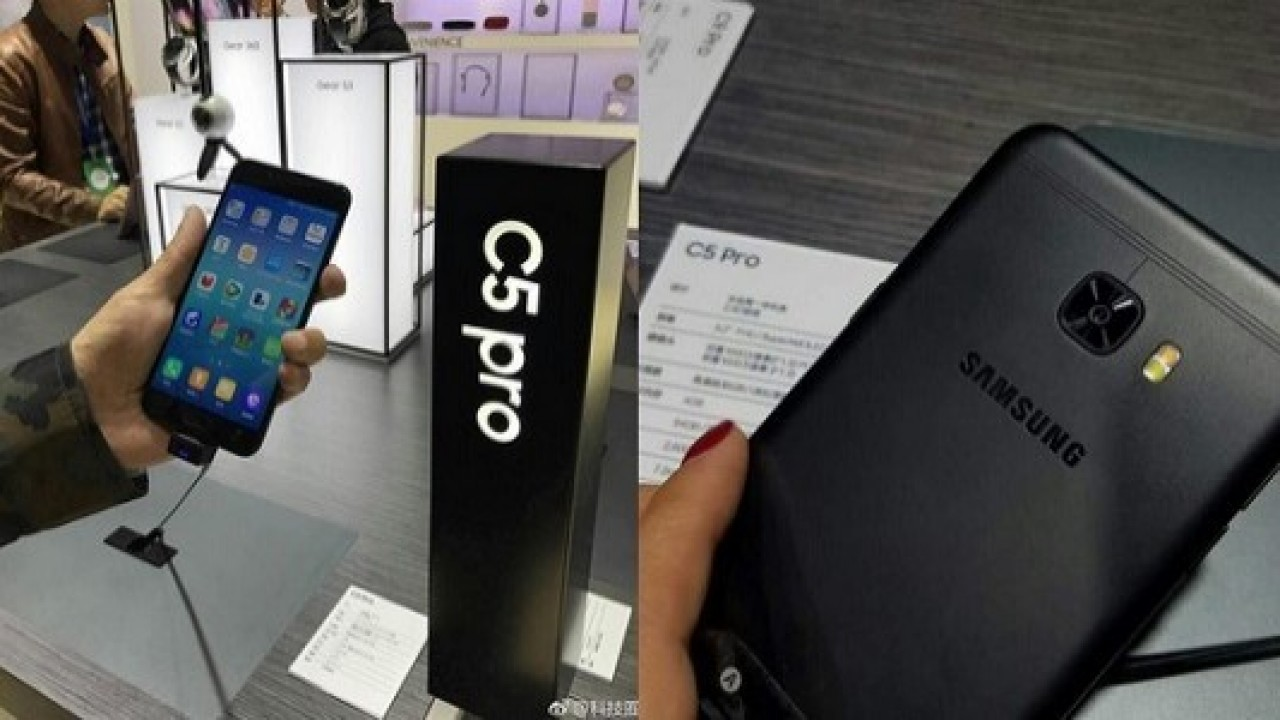 Samsung Galaxy C5 Pro akıllı telefon Çin'de ortaya çıktı