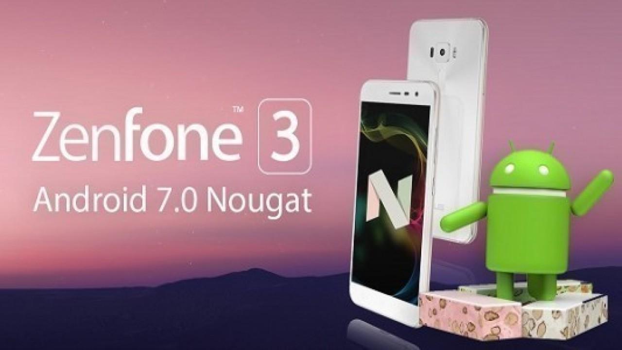 Asus Zenfone 3 Laser İçin Android 7.0 Nougat Güncellemesi Yayınlandı
