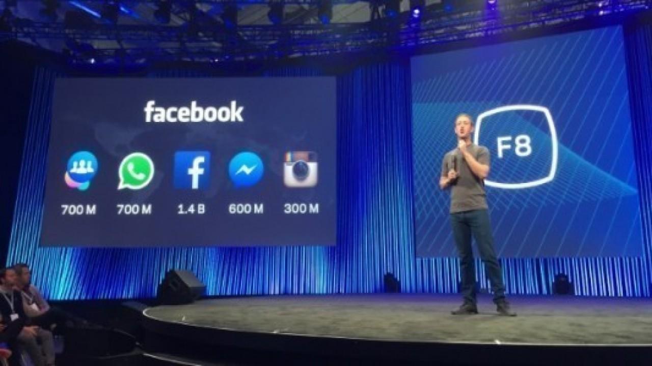 Facebook F8 Konferansı Bir Çok Yeniliğin Duyurusuna Sahne Oldu