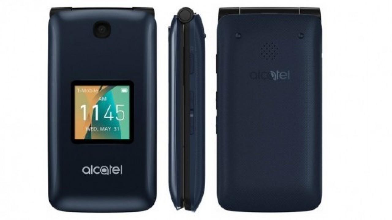Alcatel Go Flip'i giriş seviyesi için duyurdu