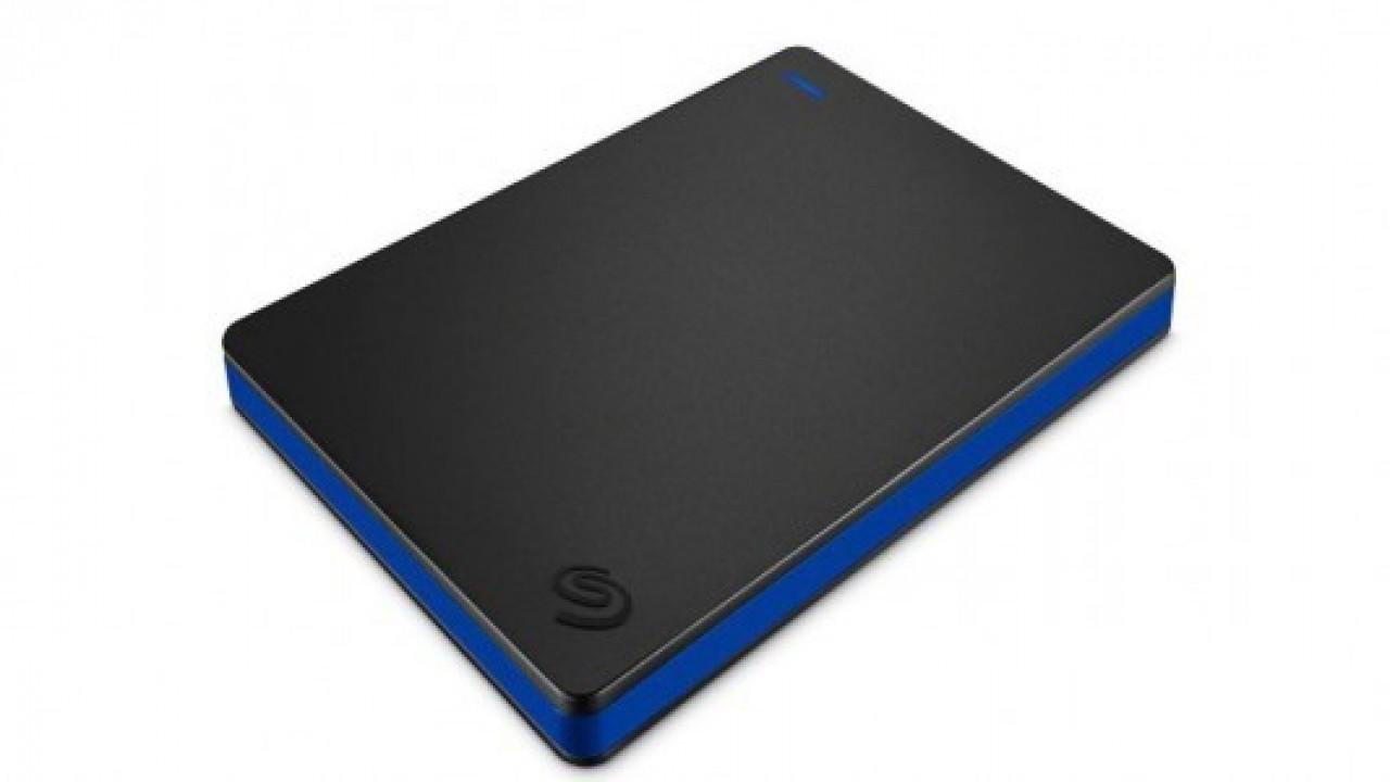 Seagate, PS4 kullanıcıları için 2 TB'lık harici diskini duyurdu