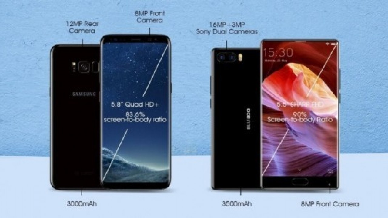BLUBOO S1 muhteşem ekranı ve teknik özellikleriyle dikkat çekiyor