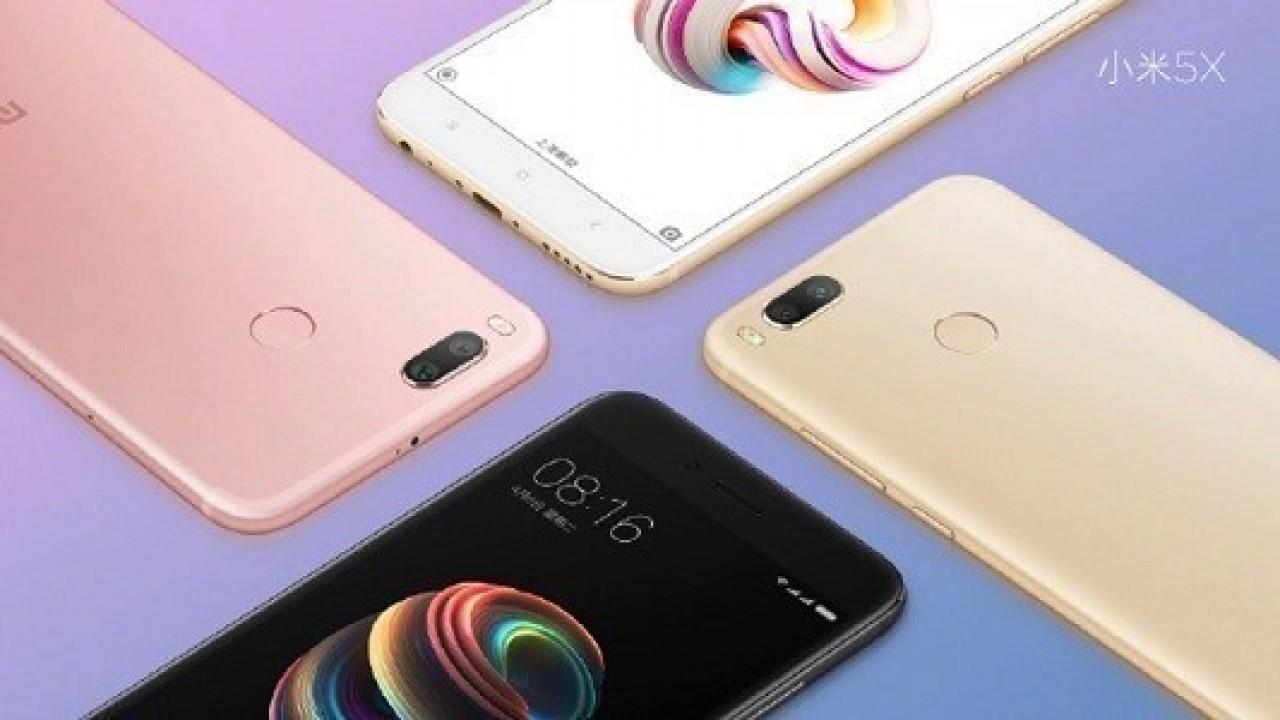 Xiaomi Mi 5X Hindistan'da Satışa Çıkıyor