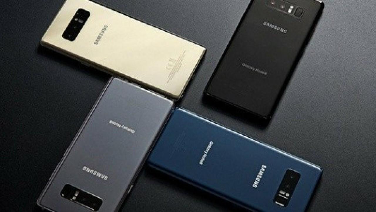 Samsung Galaxy Note8 ABD Dahil 42 Ülkede Resmi Olarak Piyasaya Çıktı