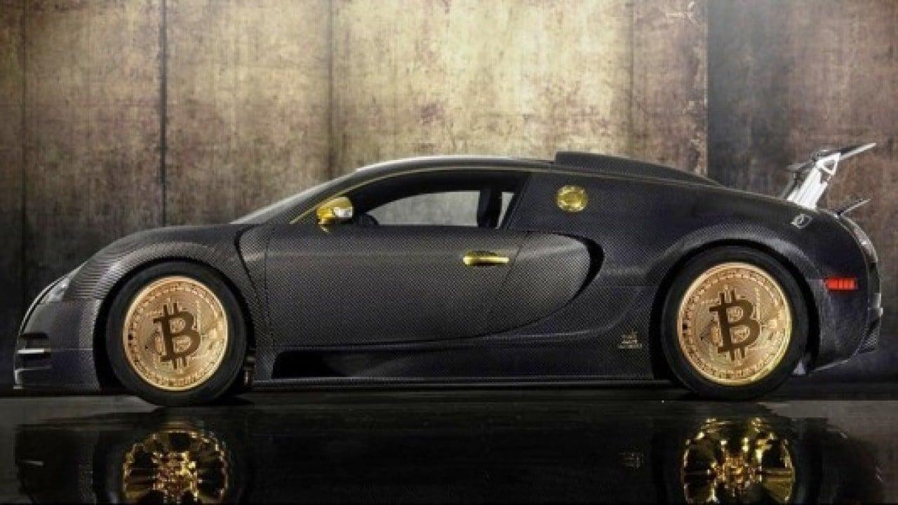 Bitcoin ile Bugatti satın alabileceksiniz