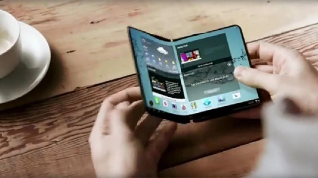 Samsung'un katlanabilir telefonunun patenti yeniden görüntülendi