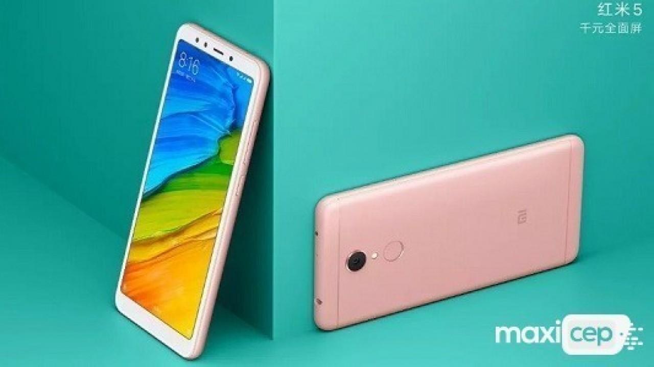 Xiaomi Redmi 5 Modeli 4 GB RAM İle Beraber Satışa Sunuldu