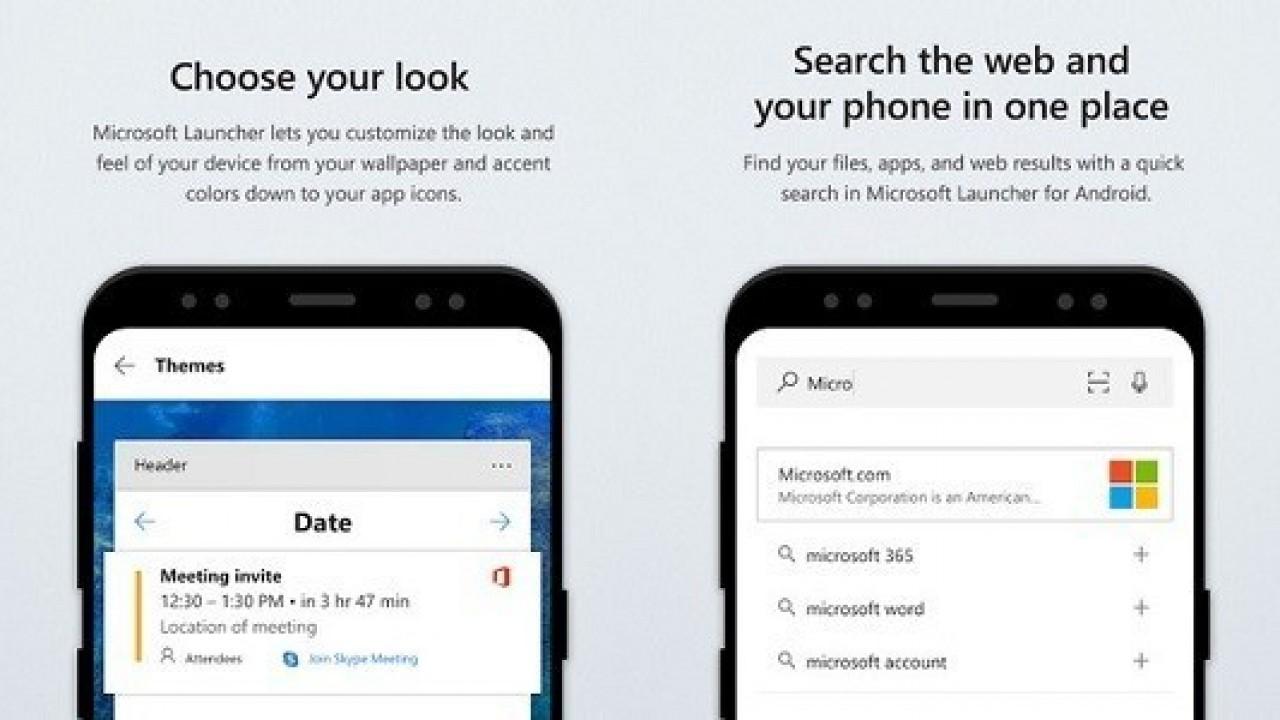 Microsoft Launcher Birçok İyileştirme İçeren Yeni Bir Güncelleme Aldı