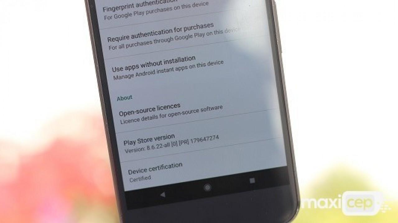 Google Play Store 8.6.22 Sürümü Yayınlandı