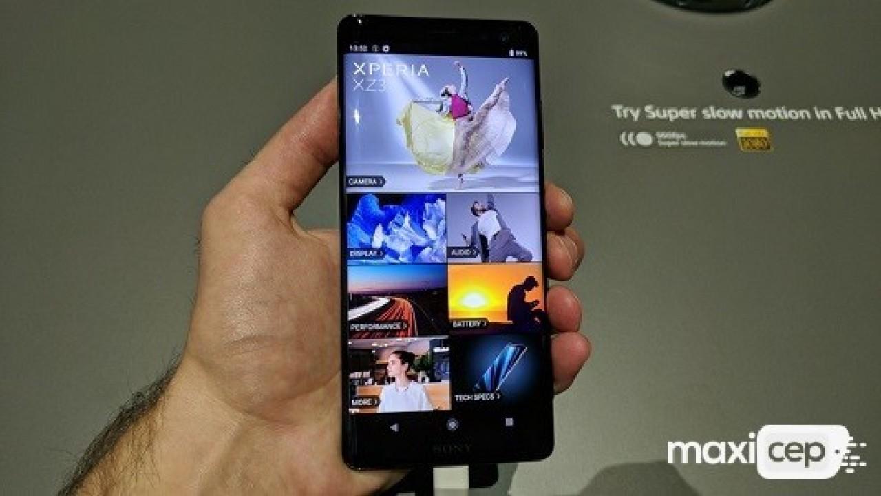 Sony Xperia XZ3 İçin İlk Sistem Güncellemesi Yayınlandı