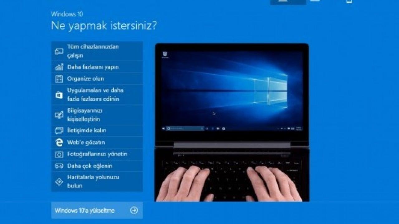 Flash bellek ile Windows 10 nasıl yüklenir?