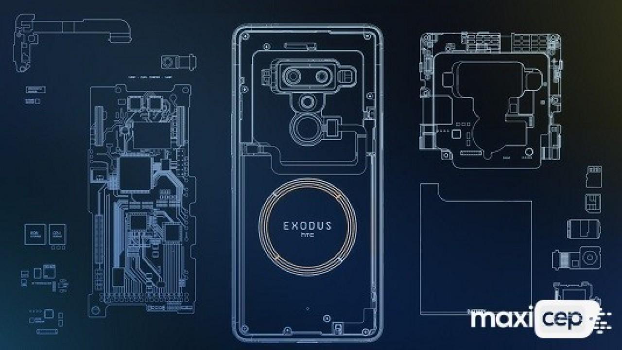 Merakla Beklenen Kripto Cihazı HTC Exodus 1 Tanıtıldı