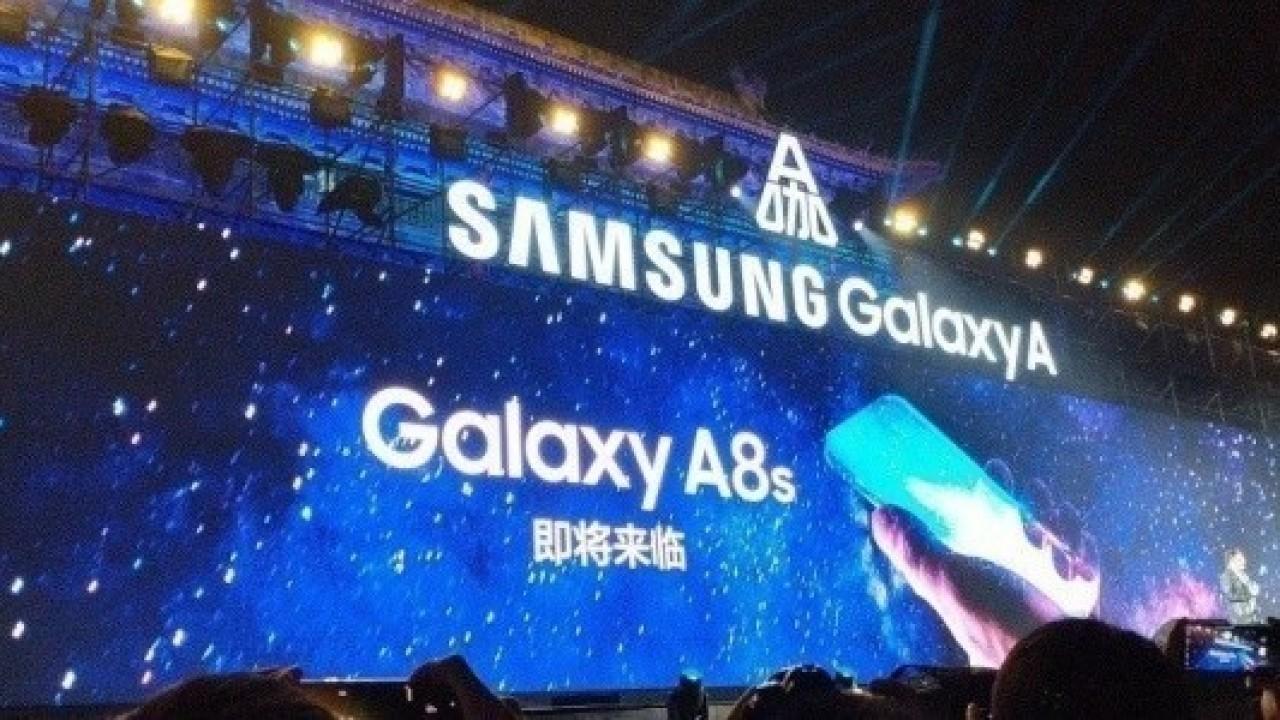 Samsung, Ekran İçi Ön Kameraya Sahip Galaxy A8s Modelini Ortaya Çıkardı