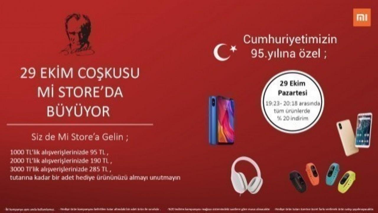 Evofone, Cumhuriyet Bayramı'na Özel, Xiaomi Ürünlerinde İndirim ve Hediye Kampanyası Başlattı