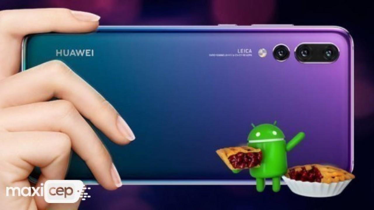 Huawei P20 Pro, Android 9 Pie güncellemesine kavuştu
