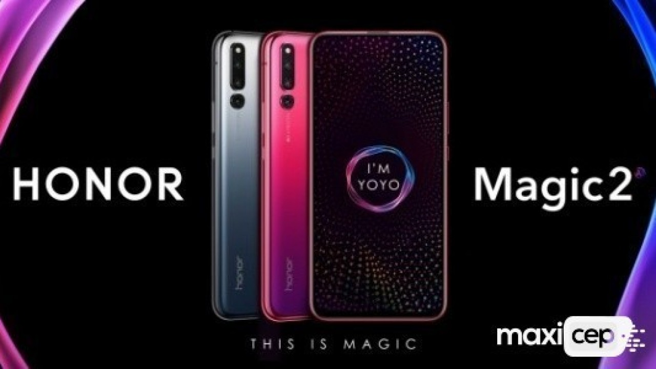 Honor Magic 2, Üçlü Kamera, 8GB RAM ve Kirin 980 Yonga Seti ile Duyuruldu