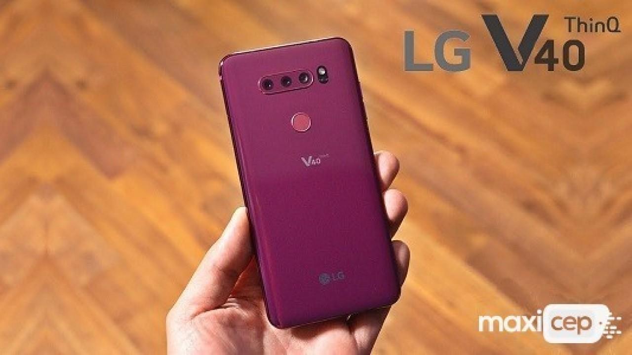 LG V40 ThinQ Kamera İyileştirmeleri İçeren Bir Güncelleme Aldı
