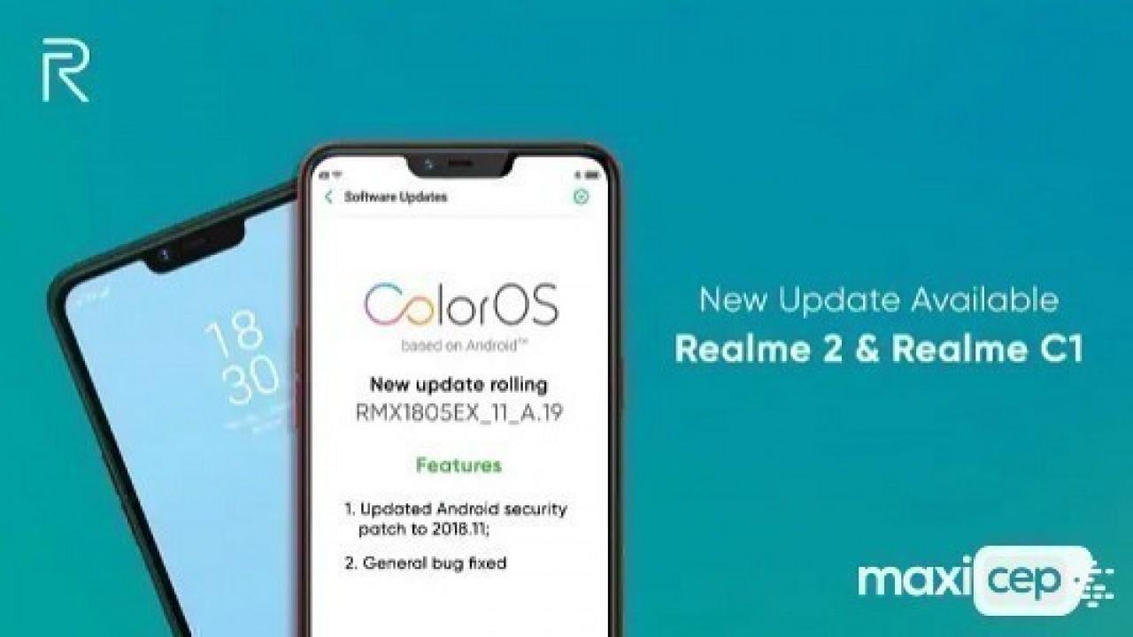 Realme 2 ve Realme C1 İçin Kasım Ayı Güncellemesi Yayınlandı