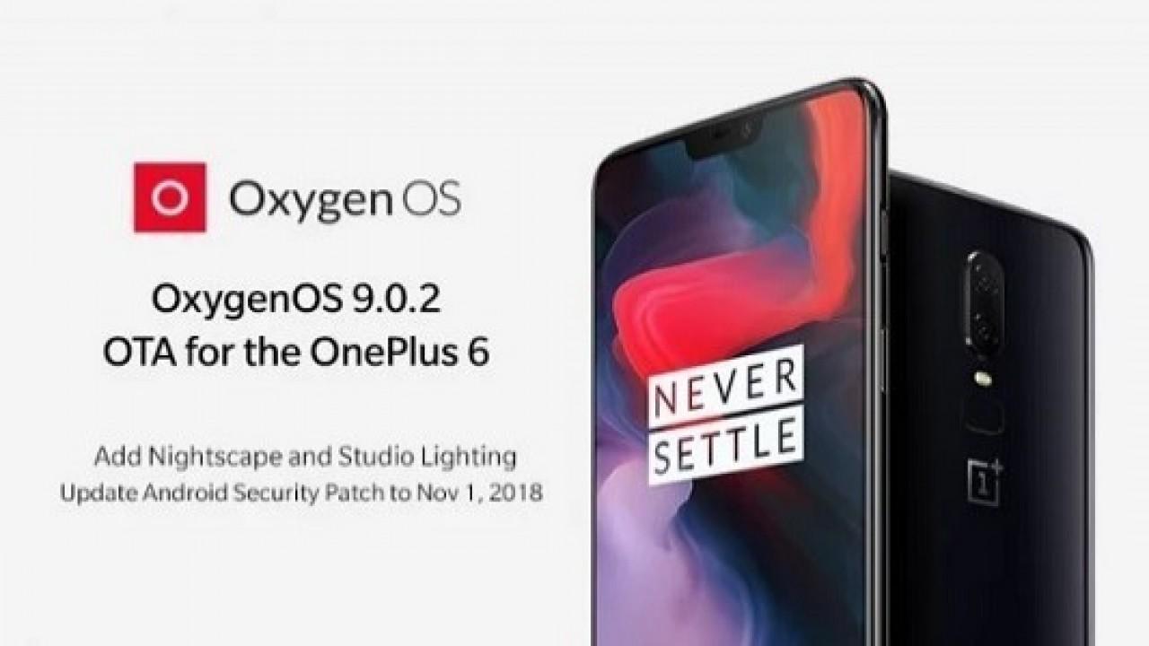 OnePlus 6 İçin OxygenOS 9.0.2 Güncellemesi Yayınlandı