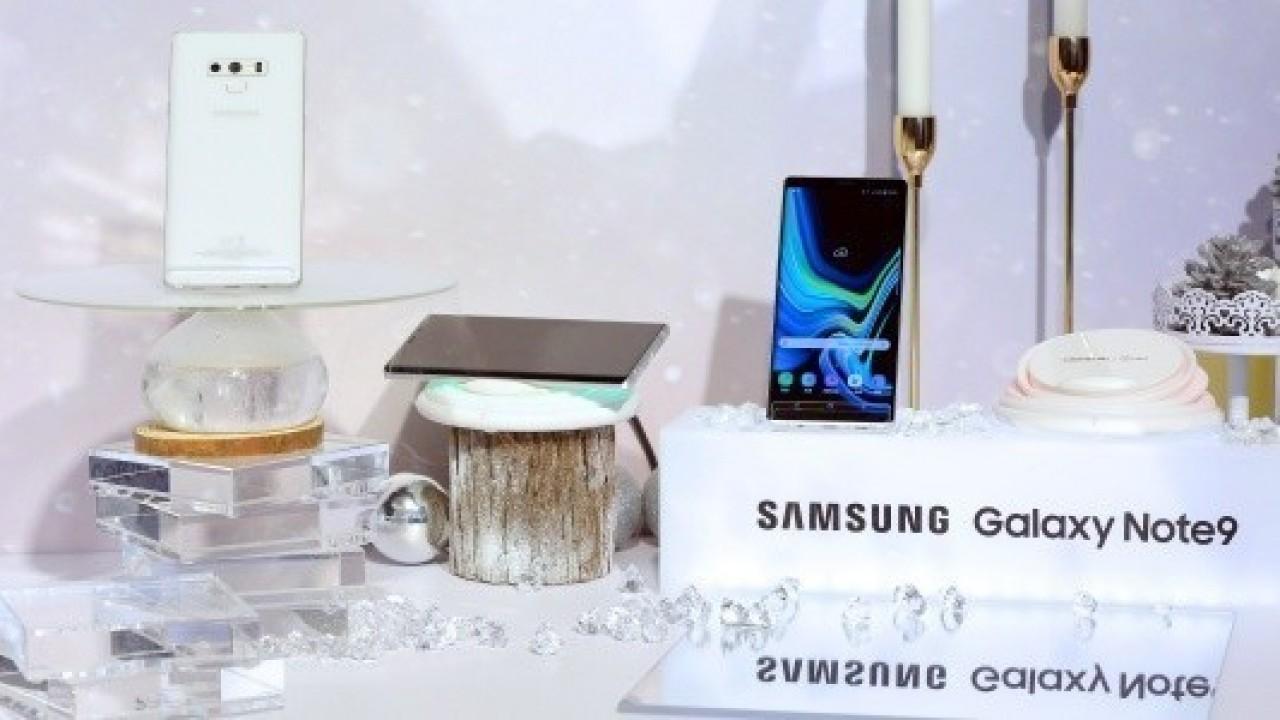 Samsung, Kar Beyazı Galaxy Note 9'u Tanıttı