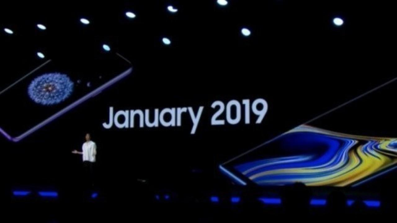 Samsung Galaxy Note9, Galaxy S9 ve S9+ Android 9.0 Pie Güncellemesi, Ocak 2019'da Geliyor