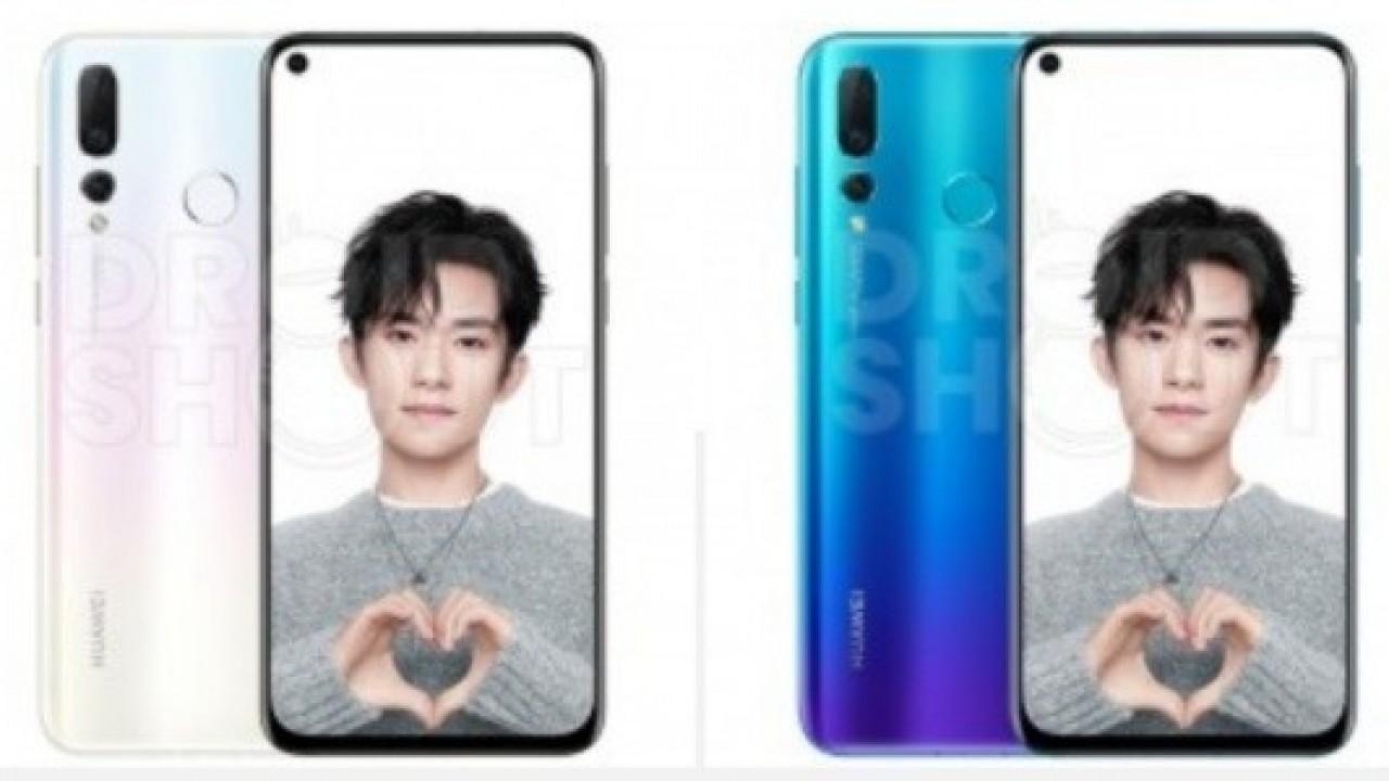 Huawei Nova 4'ün Resmi Basın Görselleri İnternete Sızdırıldı