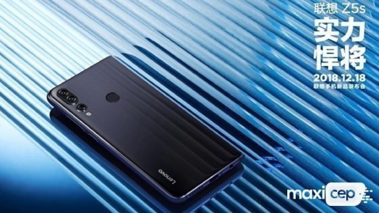 Lenovo Z5s'nin Basın Görselleri Şirket Tarafından Paylaşıldı