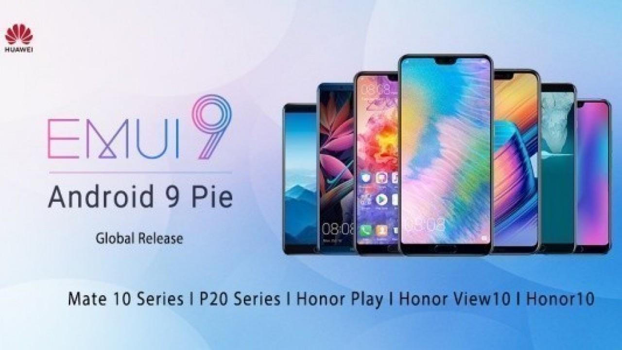Huawei, P20, P20 Pro ve Mate 10 Pro için Android Pie Güncellemesini Yayınladı