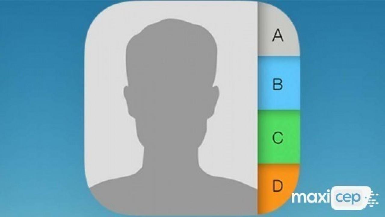 iPhone rehberinde birden fazla ( çoklu ) kişi nasıl silinir?