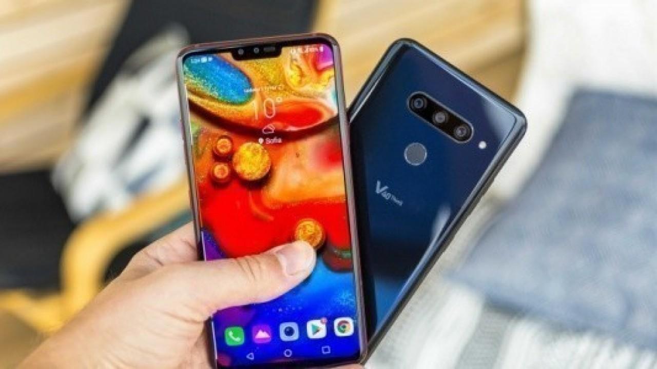 LG V40 ThinQ, Avrupa'da Satışa Çıkmaya Hazırlanıyor
