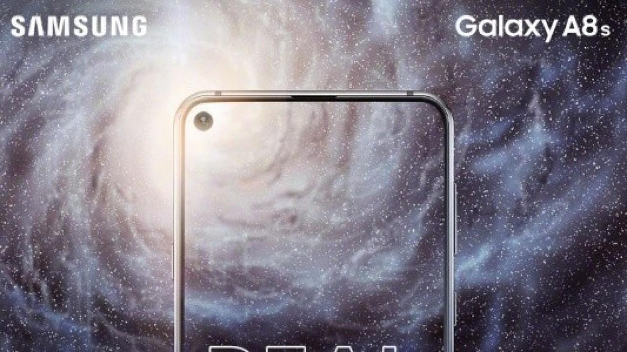 Samsung Galaxy A8s, 10 Aralık Tarihinde Duyurulacak