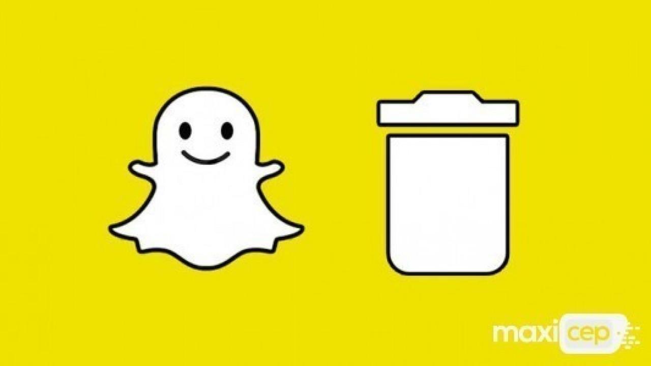 Snapchat hesabınızı silmek için neler yapılmalı?
