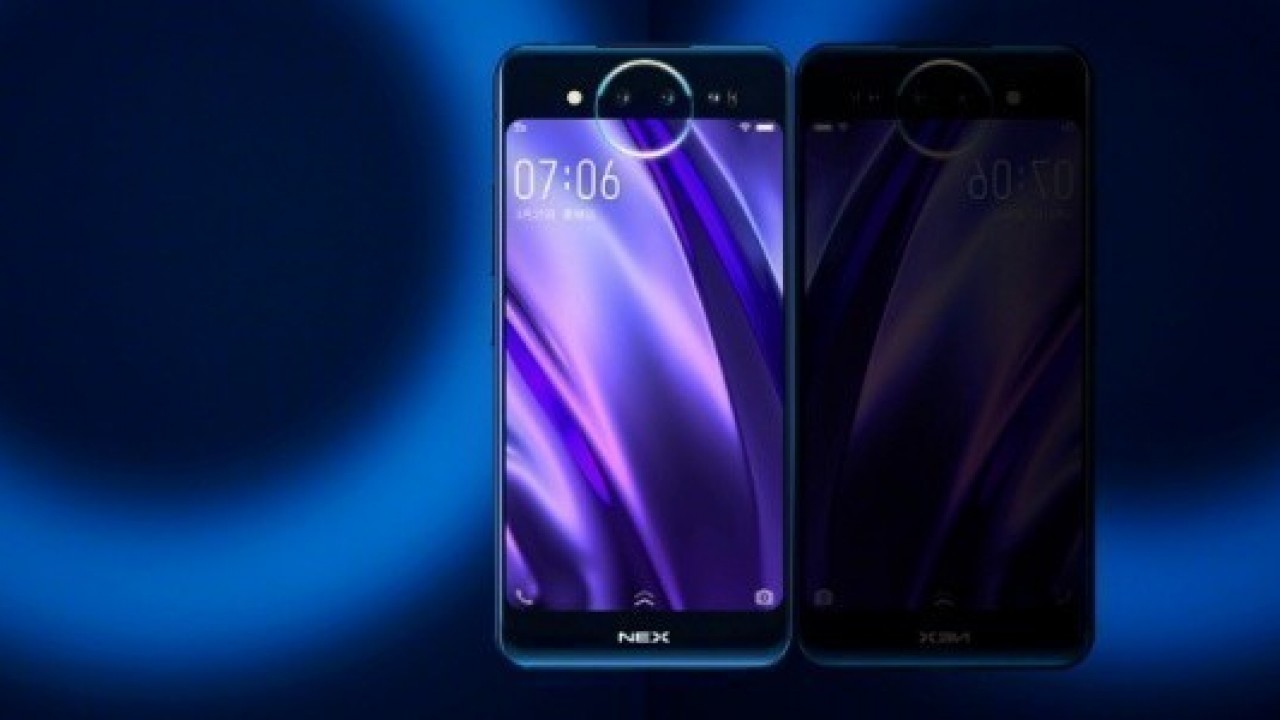 Vivo NEX 2, 10GB RAM'e, Ekran İçi Hoparlöre ve f / 1.3 Kameraya Sahip Olacak