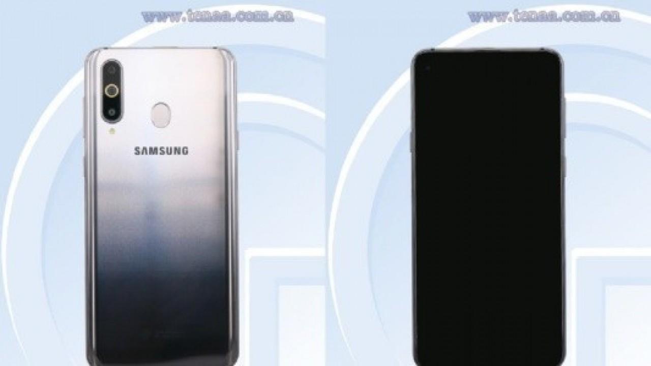 Üçlü Kamera ve Ekran İçi Ön Kameraya Sahip Galaxy A8s Görüntüleri TENAA'da Ortaya Çıktı