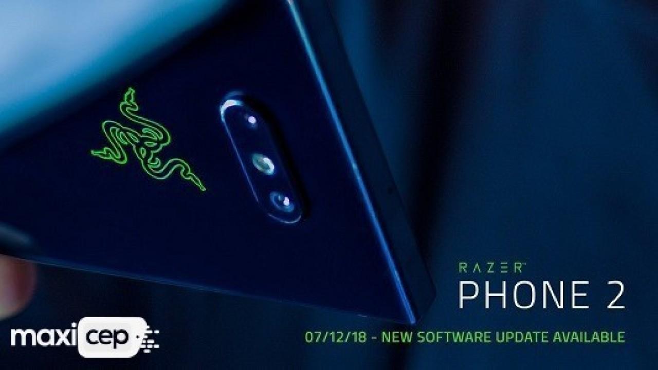 Razer Phone 2 Yeni Sistem Güncellemesi Almaya Başladı