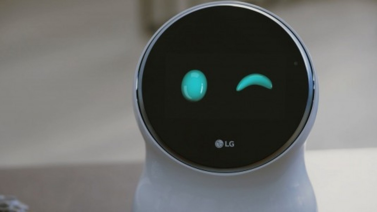 LG CLOi Robot dünyasına merhaba dedi