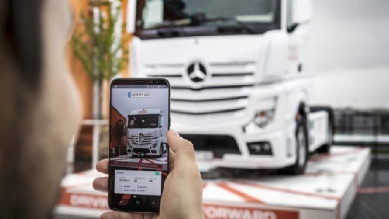 MWC 2018'deki yerini, Mercedes-Benz'de alacak