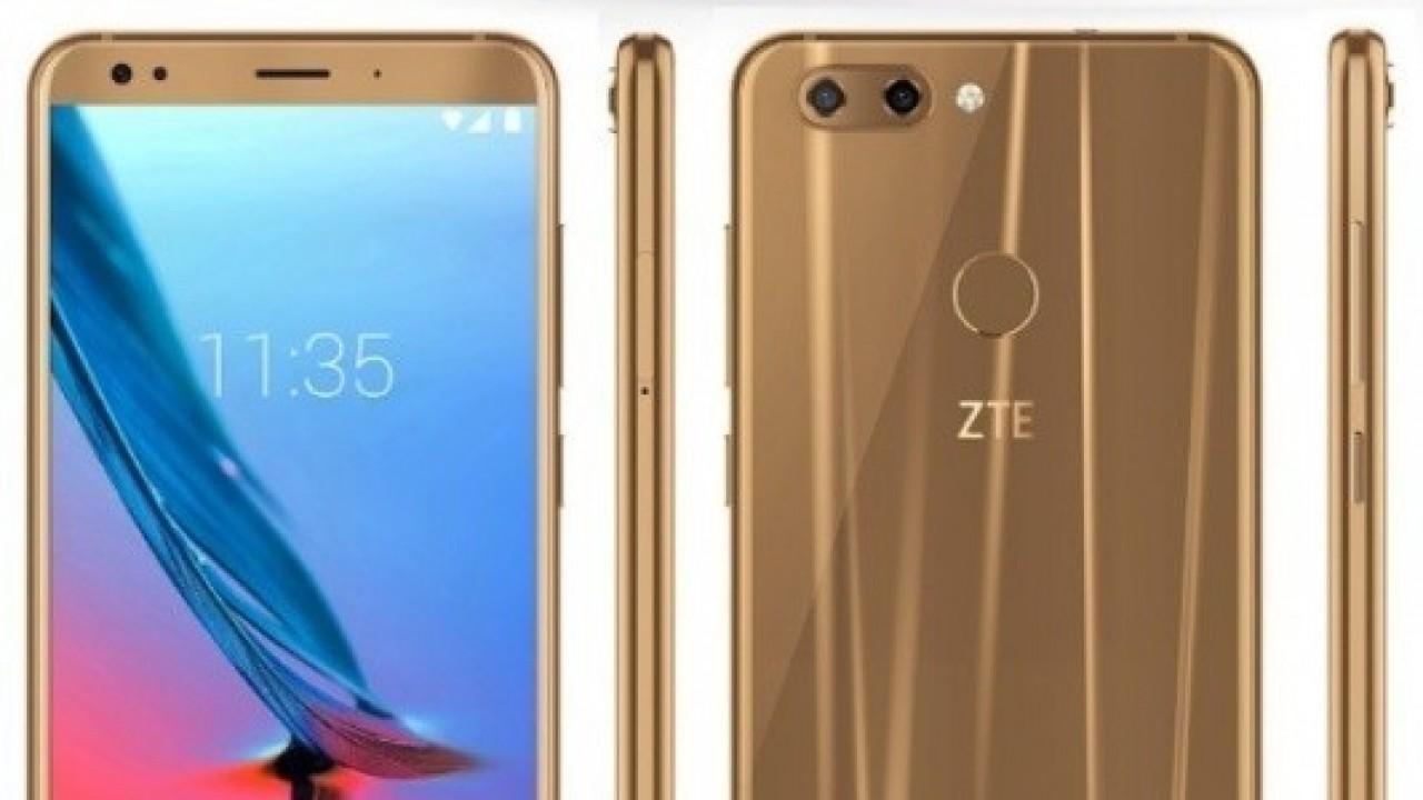 ZTE, Blade V9'u 18: 9 Ekran ve Snapdragon 450 ile MWC'de Duyuracak